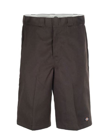 Dickies 13 Inch Loose Fit Short Dark Brown 42283DB Famous Rock Shop Newcastle 2300 NSW Australia