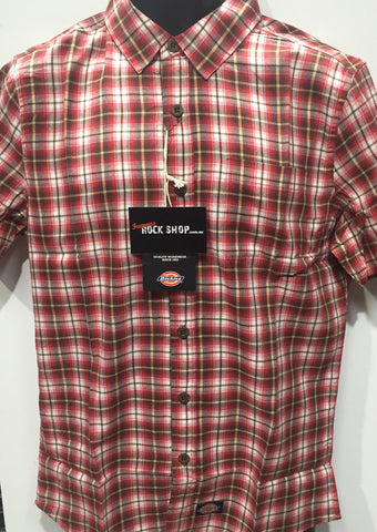 Dickies Colorado Shirt Red K3130337 Famous Rock Shop 517 Hunter Street Newcastle 2300 NSW Austraila