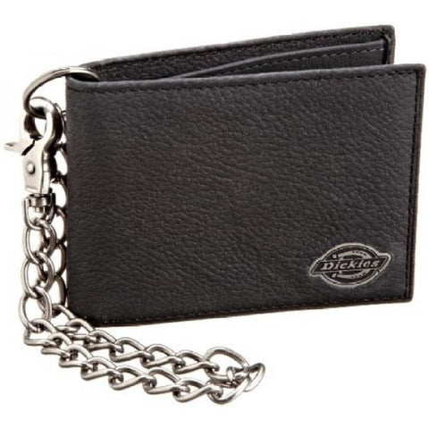 Dickies Inline Wallet with Chain Black 31DI1304. Famous Rock Shop Newcastle, 2300 NSW. Australia.