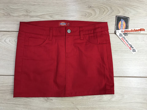 Dickies Girl Classic Skirt Red