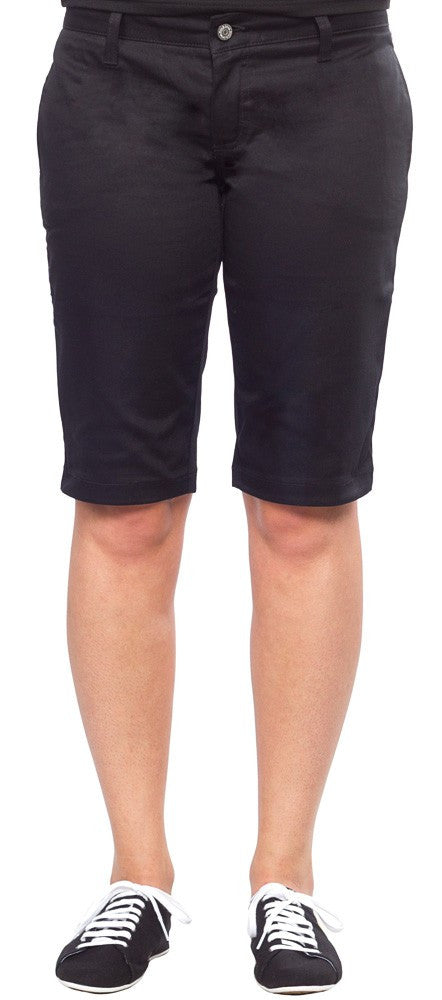 Dickies Girl 13 Inch Bull Tomboy Shorts Black NHH6011  Famous Rock Shop 517 Hunter Street Newcastle 2300 NSW Australia