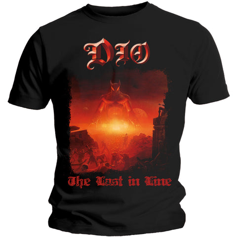 Dio Men's Tee: The Last In Line Colour Black DIOTS02MB Dio Men's Black Tee: The Last In Line Famous Rock Shop Newcatsle 2300 NSW Australia