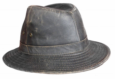 Distressed Weathered Water Repellent Cotton Safari M010 Dark Brown Famous Rock Shop Newcastle 2300 NSW Australia