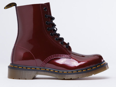 dr martens pascal cherry red rouge spectra patent famous rock shop. Black Bedroom Furniture Sets. Home Design Ideas
