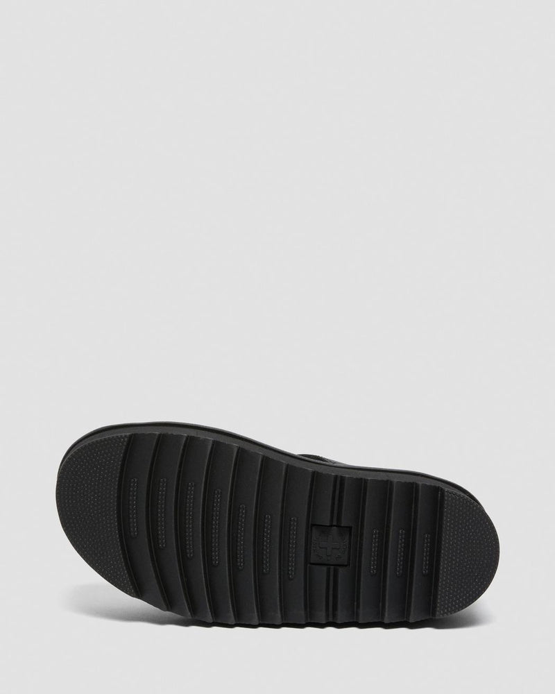 Dr Martens Francis Black Hydro Leather Sandals
