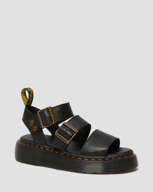 Dr Martens Gryphon Brando Black Sandals 25720001 Famous Rock Shop Newcastle, 2300 NSW. Australia. 1