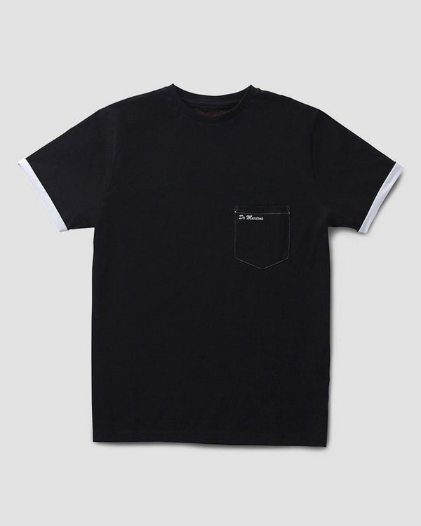 Dr Marten Core Pocket T-Shirt Black