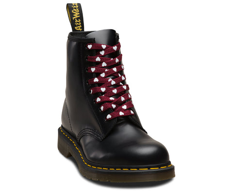 Dr Martens 140cm Oxblood Heart Laces AC748001 Famous Rock Shop Newcastle, 2300 NSW. Australia. 1