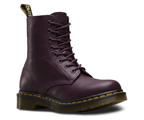 Dr Martens Pascal Purple Virginia 8 Hole Leather Boot 13512511