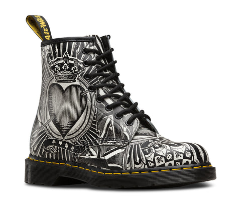 Dr Martens 1460 Egret Playing Cards Backhand 23407112
