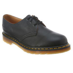 Dr Martens 1461 Black Nappa Shoe 1138001 Famous Rock Shop Newcastle 2300 NSW. Australia