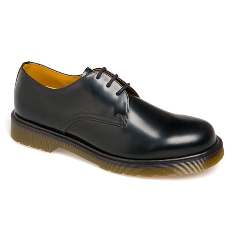 Dr Martens 1462 Black Polished Smooth Leather shoe 11834006 Famous Rock Shop Newcastle NSW Australia