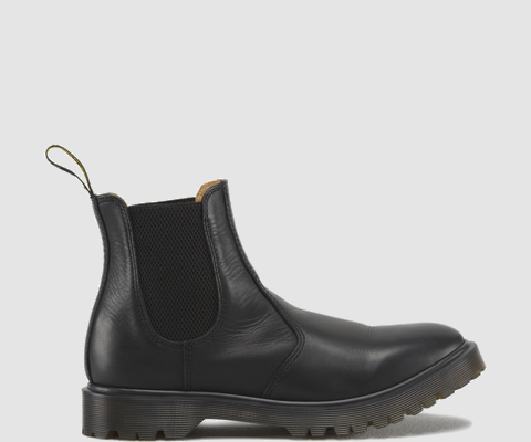 Dr Martens 2976 Chelsea Boot Black Aged Greasy Leather