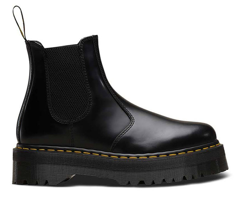 Dr Martens 2976 Quad Black Polished Smooth 24687001 Famous Rock Shop Newcastle, 2300 NSW. Australia. 2