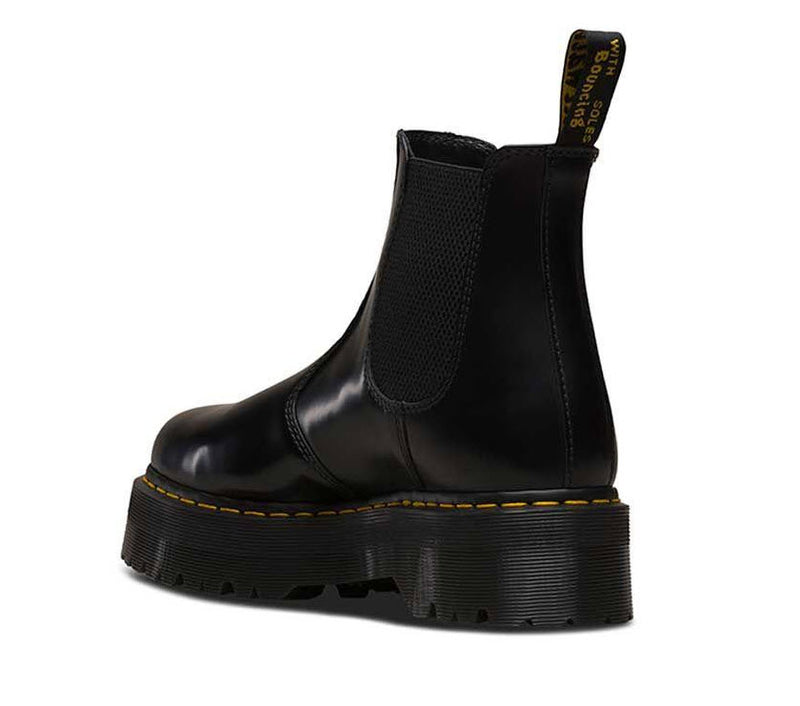 Dr Martens 2976 Quad Black Polished Smooth 24687001 Famous Rock Shop Newcastle, 2300 NSW. Australia. 4