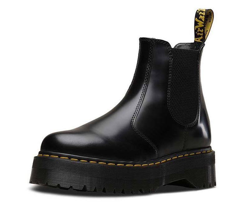 Dr Martens 2976 Quad Black Polished Smooth 24687001 Famous Rock Shop Newcastle, 2300 NSW. Australia. 6