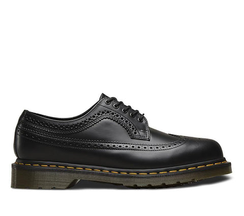 Dr Martens 3989 YS Brogue Black Leather Shoe 24341001
