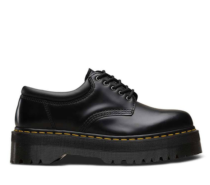 Dr Martens 8053 Quad Black Polish Smooth 24690001 Famous Rock Shop Newcastle, 2300 NSW. Australia. 2