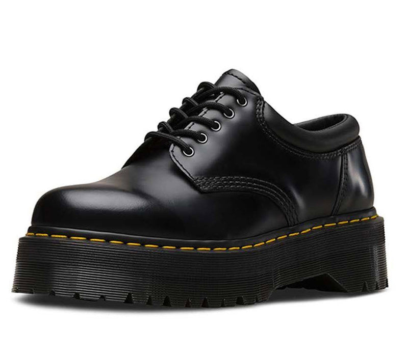 Dr Martens 8053 Quad Black Polish Smooth 24690001 Famous Rock Shop Newcastle, 2300 NSW. Australia. 4