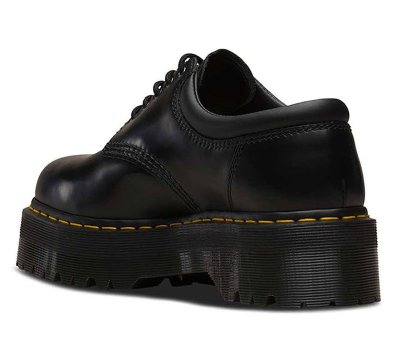 Dr Martens 8053 Quad Black Polish Smooth 24690001 Famous Rock Shop Newcastle, 2300 NSW. Australia. 5