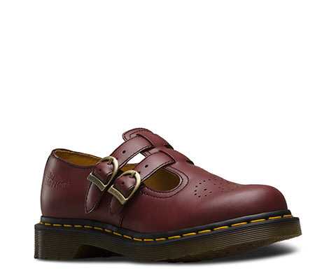 Dr Martens 8065 Mary Jane Cherry Leather Sandals 20159600