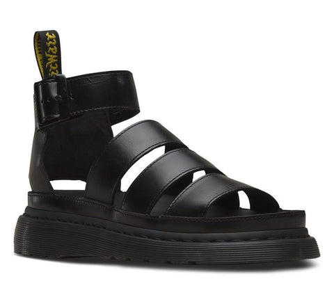 Dr Martens Clarissa II Brando Black Leather Sandal 24477001