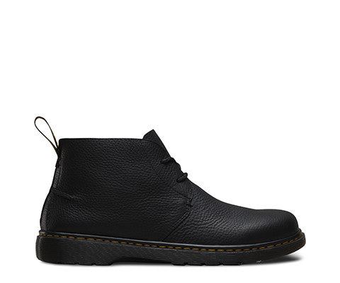 Dr Martens Ember Grizzly Black Leather Boots 20894001