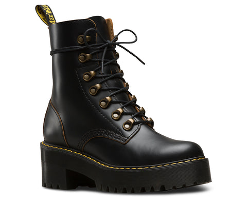 Dr Martens Leona Vintage Smooth Black 22601001