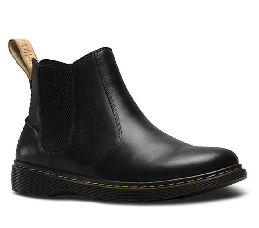 1cd1ad3e1f2 Dr Martens Lyme Westfield Black Leather Boots 23946001