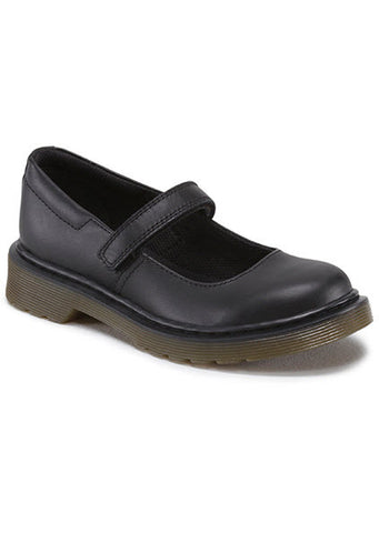 Dr Martens Maccy Mary Jane Softy T Black Leather 15655001 Famous Rock Shop v517 Hunter Street Newcastle 2300 NSW