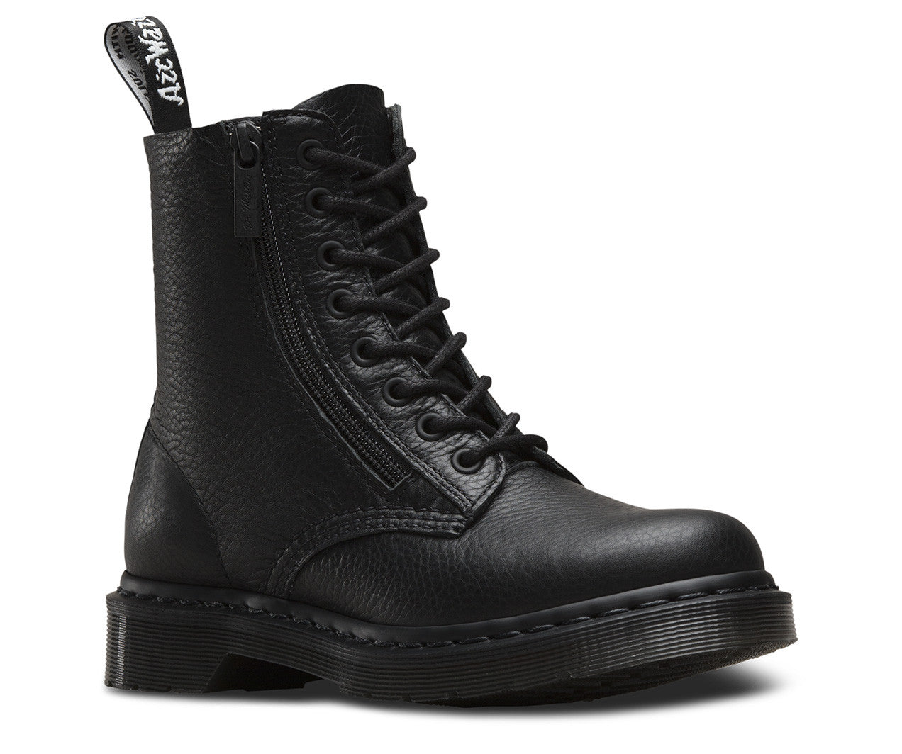Dr Martens Aunt Sally Pascal With Zip Black Boot
