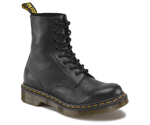 Dr Martens Pascal Black Virginia 8 Hole Leather Boot 13512006