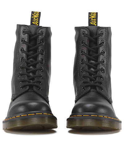Dr Martens 1460 Pascal Black Virginia 8 Hole Leather Boot 13512006