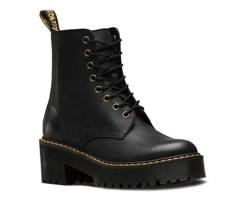 Dr Martens Shiver Hi Black Leather Boot 23921001 Famous Rock Shop Newcastle, 2300 NSW. Australia. 1
