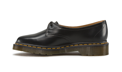 Dr Martens Siano Black Polished Smooth Leather Shoe 16017001