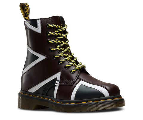 Dr Martens Union Jack Pascal Leather Boots 22774410