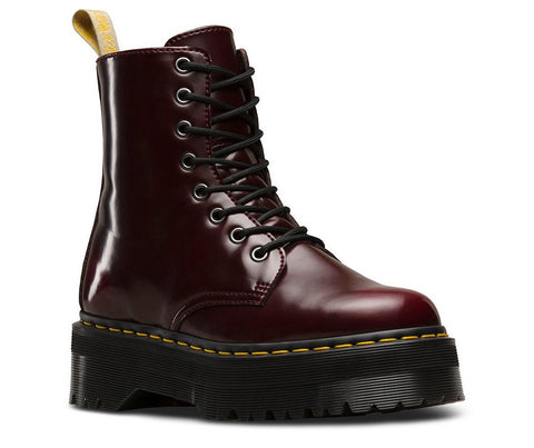 Dr Martens V Jadon II Cherry Red Oxford Rub Off 22563600 Vegan