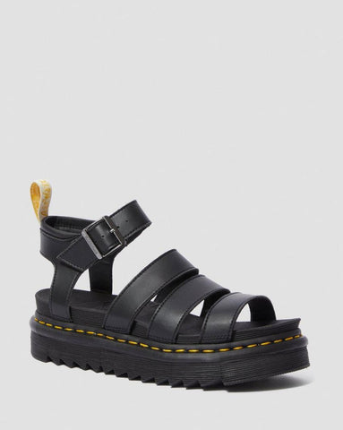 Dr Martens Vegan Blaire Sandal Black 23806001 Famous Rock Shop Newcastle, 2300 NSW. Australia. 1