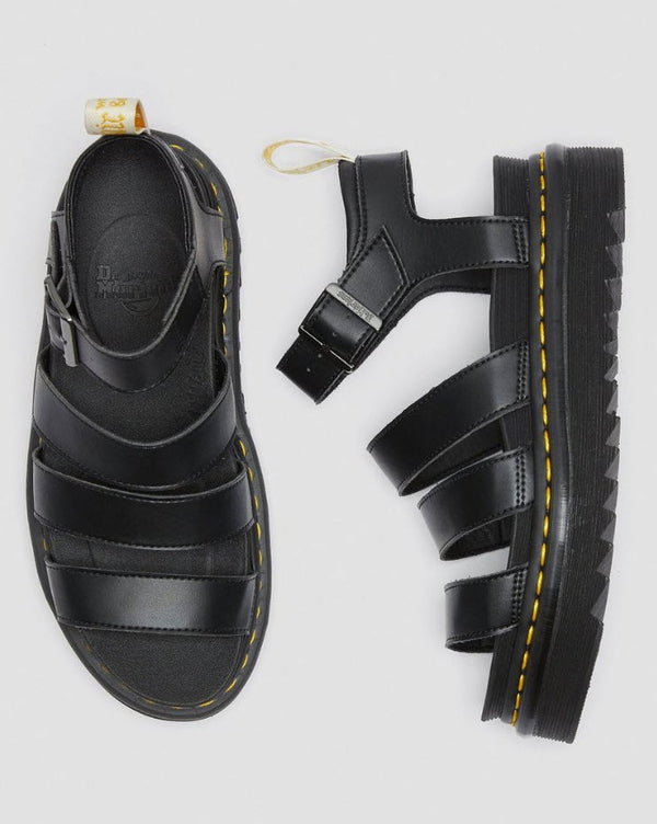 Dr Martens Vegan Blaire Sandal Black 23806001 Famous Rock Shop Newcastle, 2300 NSW. Australia. 8