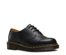 Dr Martens Vintage Made in England 1461 Black Quilon 3 Eyelet Shoe 12877001
