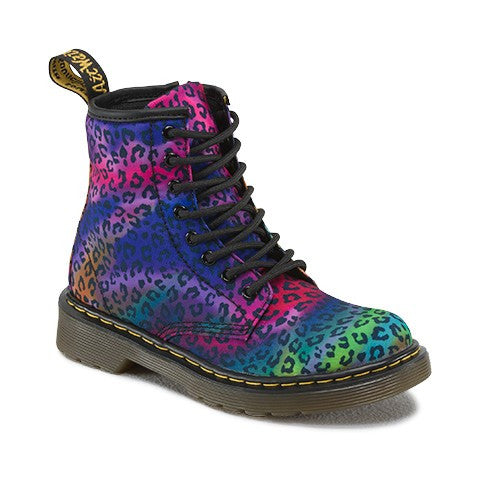 Dr Martens Youth Delaney Mini Psych Leo Multi Boots 15382103