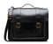 "Dr Martens 15"" Black Smooth Leather Satchel"