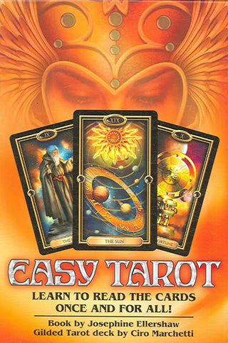 Easy Tarot Set - Handbook, Cards & Layout Sheet