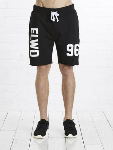 Elwood 96 Sweat Short Black