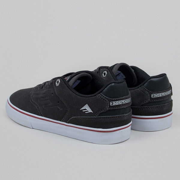 Emerica The Reynolds Low Vulc X Indy Dark Grey 6107000167 Famous Rock Shop Newcastle, 2300 NSW Australia