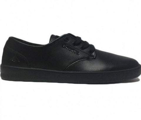 Emerica The Romero Laced SMU Black/ Black/ Black Leather