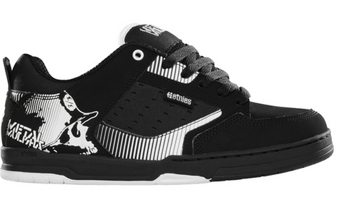 Etnies Metal Mulisha Cartel Black White Famous Rock Shop Newcastle NSW Australia
