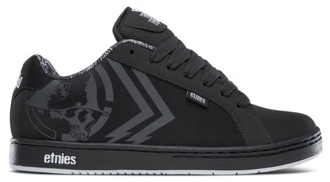 Etnies Metal Mulisha Fader Black/White 4107000233 976. Famous Rock Shop. 517 Hunter Street Newcastle, 2300 NSW. Australia.