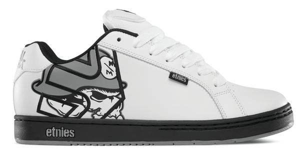 Metal Mulisha Fader White/Black/Grey