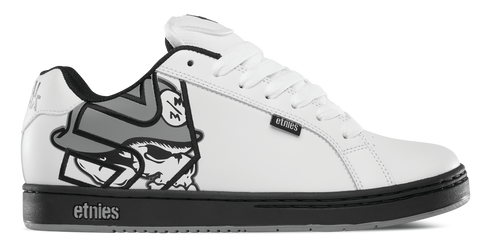 Metal Mulisha Fader White/Black/Grey 1